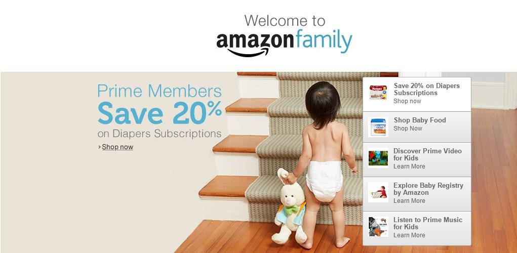 Amazon Family 亚马逊家庭计划1