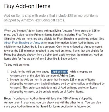 Add-on item 2