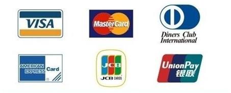 海淘信用卡种类